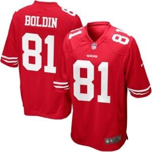 Nike Anquan Boldin San Francisco 49ers Jersey Red